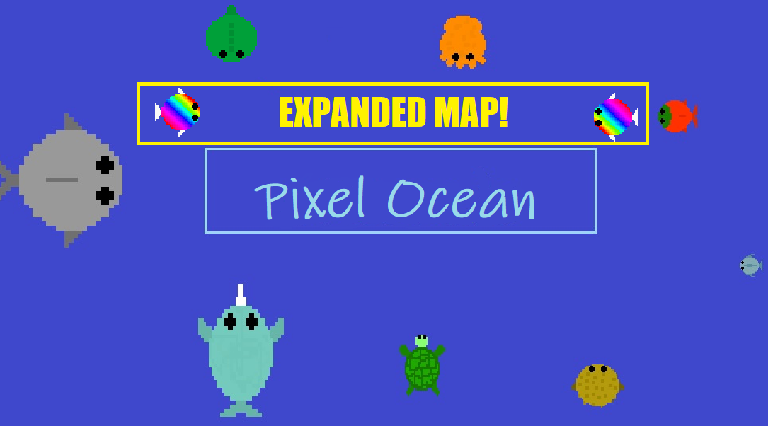 Pixel Ocean (made in 2018)