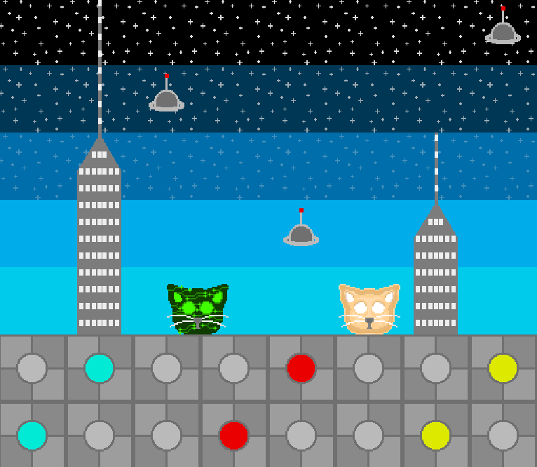 (future map) Cats vs Disasters