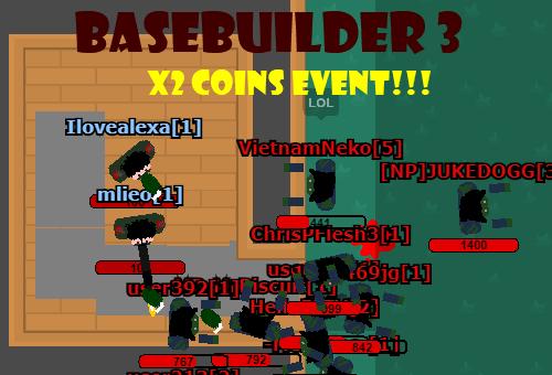 BaseBuilder 3 DATA SAVES! x2 coins